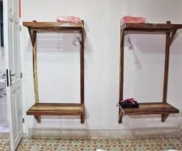 Storage space in the Red Room in La Gargola guesthouse in Old Havana, Cuba