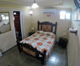 Room 7 of Vista al Mar guesthouse in Old Havana