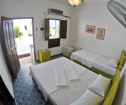 Room 6 of Casa Obrapia is a bright and airy Bnb room in Old Havana Cuba