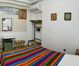 Modern hotel room in Havana