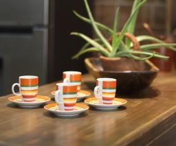 coffee cups and aloe vera